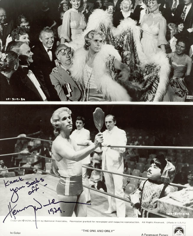Image 1 for Henry 'The Fonz' Winkler - Autographed Signed Photograph - HFSID 183839