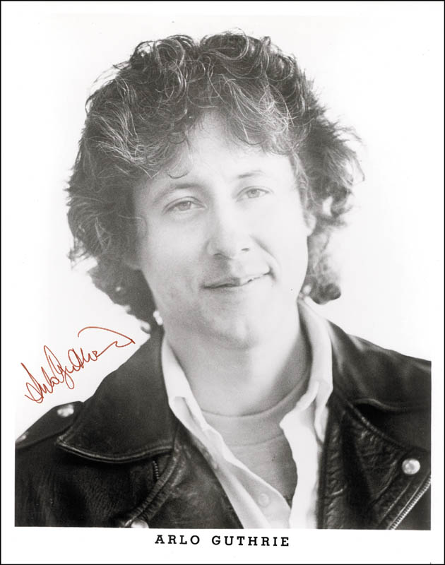 Image 1 for Arlo Guthrie - Printed Photograph Signed In Ink - HFSID 184124