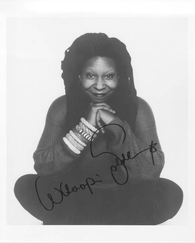 Image 1 for Whoopi Goldberg - Autographed Signed Photograph - HFSID 184195