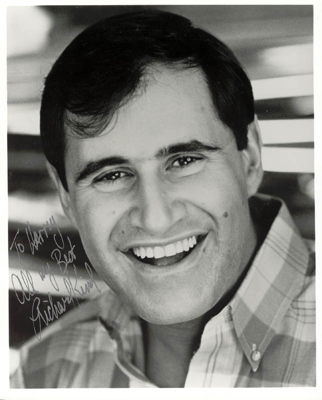 Image 1 for Richard Kind - Autographed Inscribed Photograph - HFSID 184668