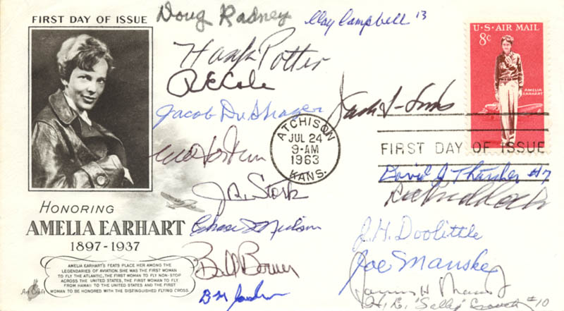 Image 1 for Doolittle Raiders - First Day Cover Signed with co-signers - HFSID 184772