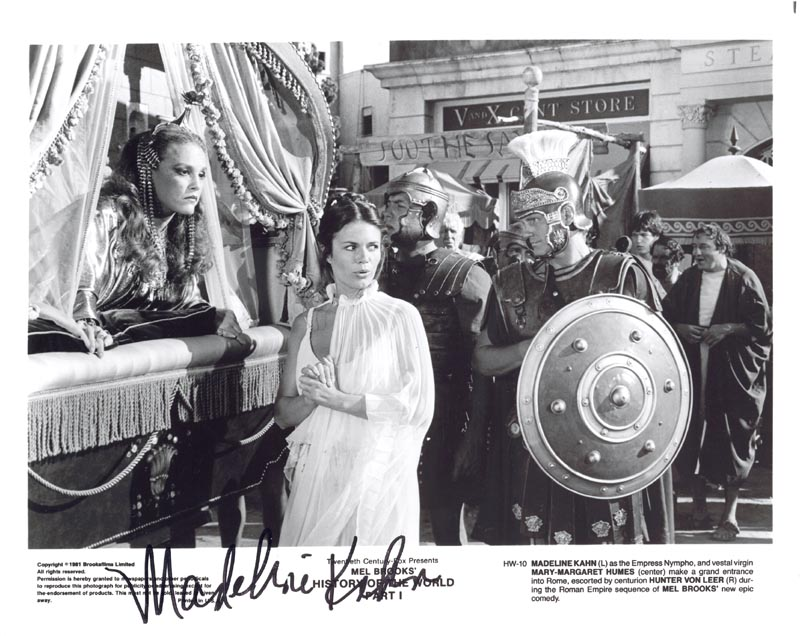 Image 1 for Madeline Kahn - Autographed Signed Photograph - HFSID 184987