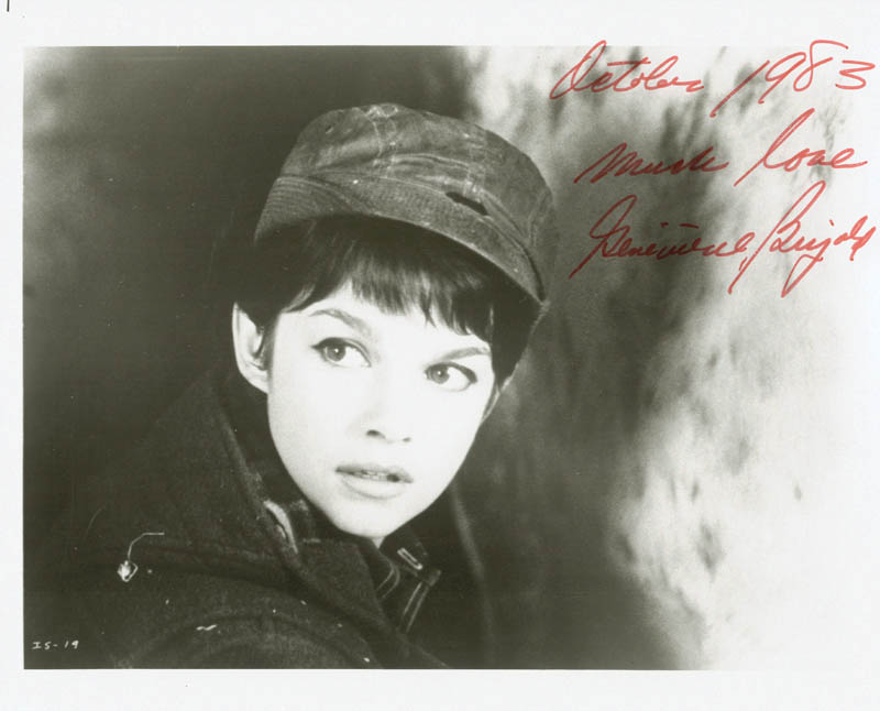 Image 1 for Genevieve Bujold - Autographed Signed Photograph 10/1983 - HFSID 185184
