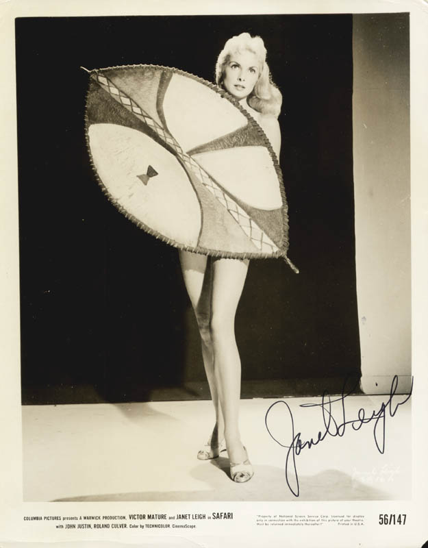 Image 1 for Janet Leigh - Printed Photograph Signed In Ink - HFSID 185324