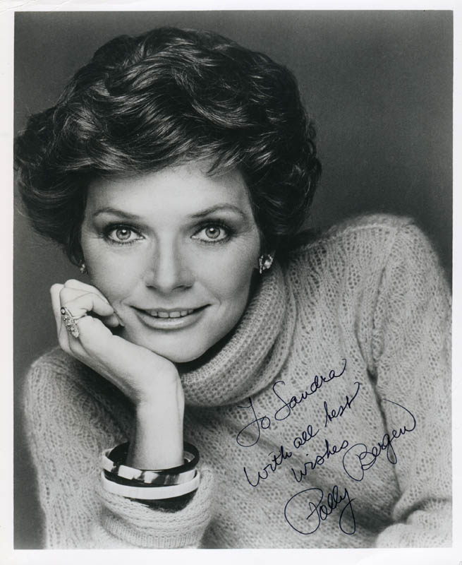 Image 1 for Polly Bergen - Autographed Inscribed Photograph - HFSID 185476