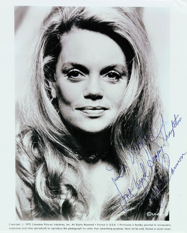 Image 1 for Dyan Cannon - Autographed Inscribed Photograph - HFSID 185522