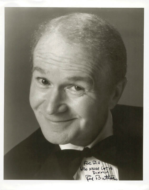Image 1 for Red Buttons - Autographed Inscribed Photograph - HFSID 185907