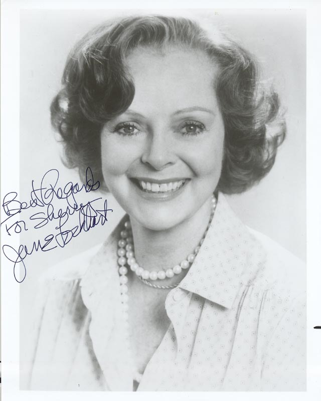 Image 1 for June Lockhart - Autographed Inscribed Photograph - HFSID 186092