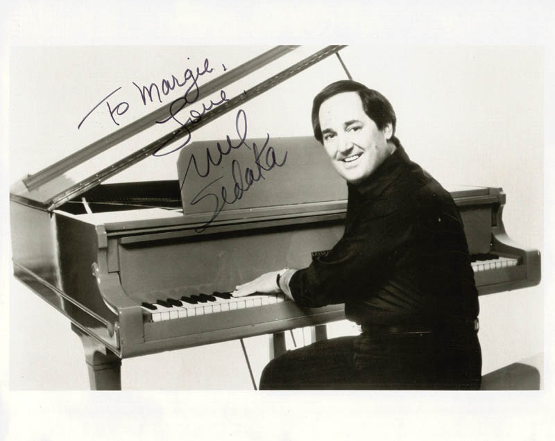 Image 1 for Neil Sedaka - Autographed Inscribed Photograph - HFSID 18681