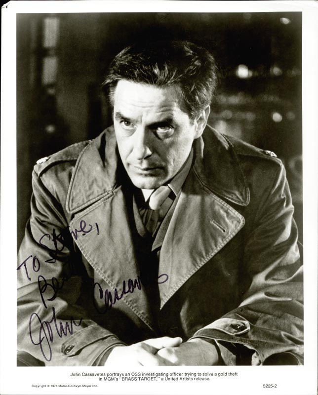 Image 1 for John Cassavetes - Autographed Inscribed Photograph - HFSID 186824