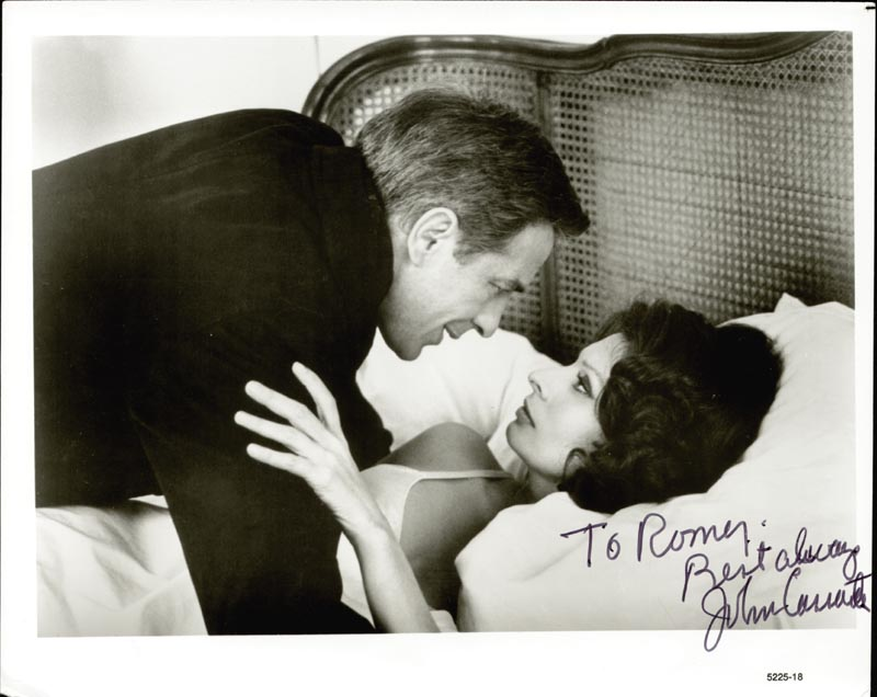 Image 1 for John Cassavetes - Autographed Inscribed Photograph - HFSID 186826