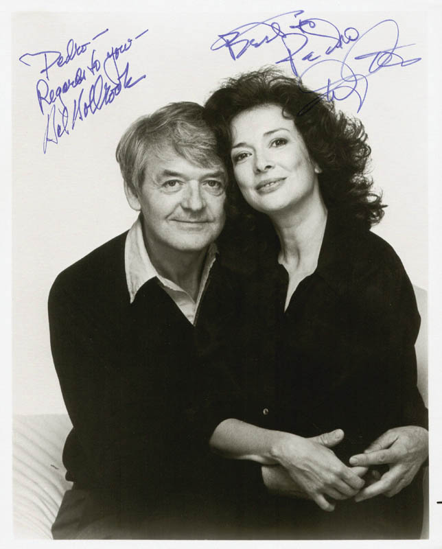 Image 1 for Hal Holbrook - Autographed Inscribed Photograph co-signed by: Dixie Carter - HFSID 187211