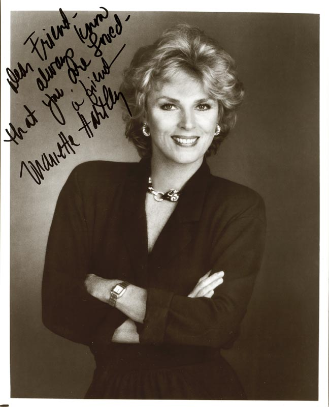 Image 1 for Mariette Hartley - Autographed Signed Photograph - HFSID 187232