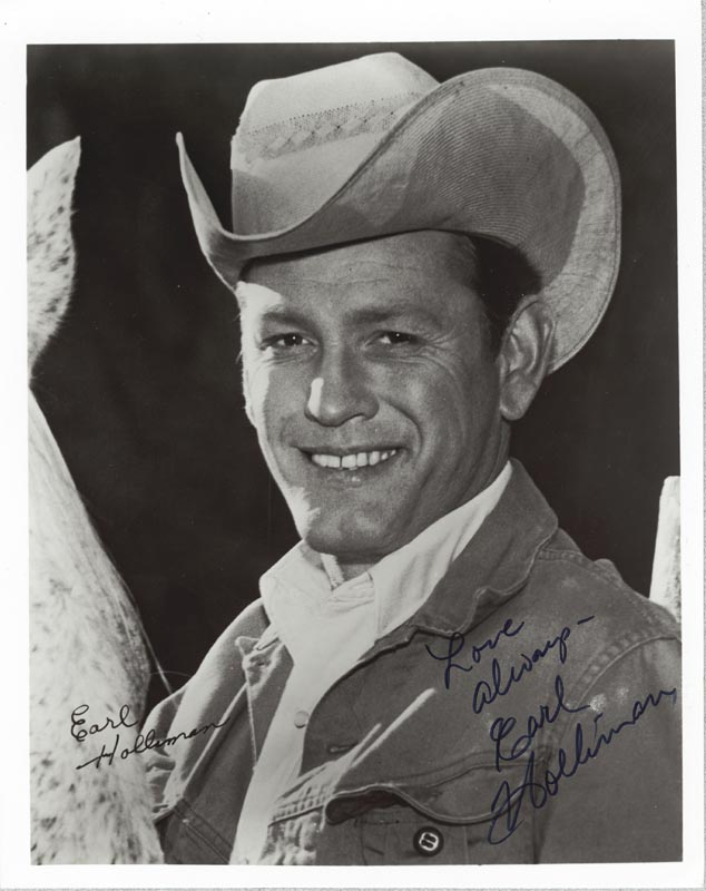 Image 1 for Earl Holliman - Autographed Signed Photograph - HFSID 187247