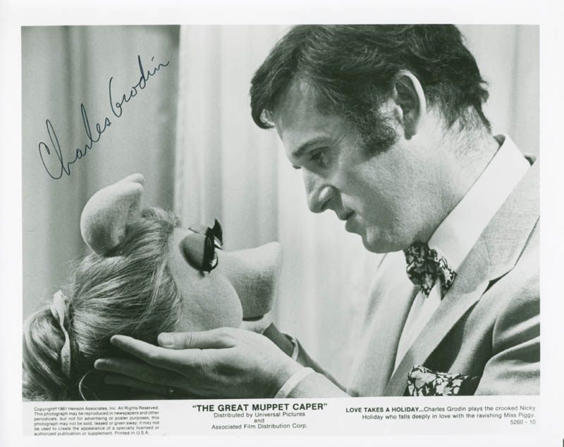 Image 1 for Charles Grodin - Autographed Signed Photograph - HFSID 187303