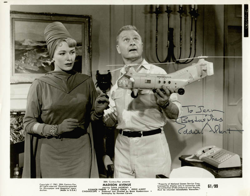 Image 1 for Eddie Albert - Autographed Inscribed Photograph - HFSID 187503