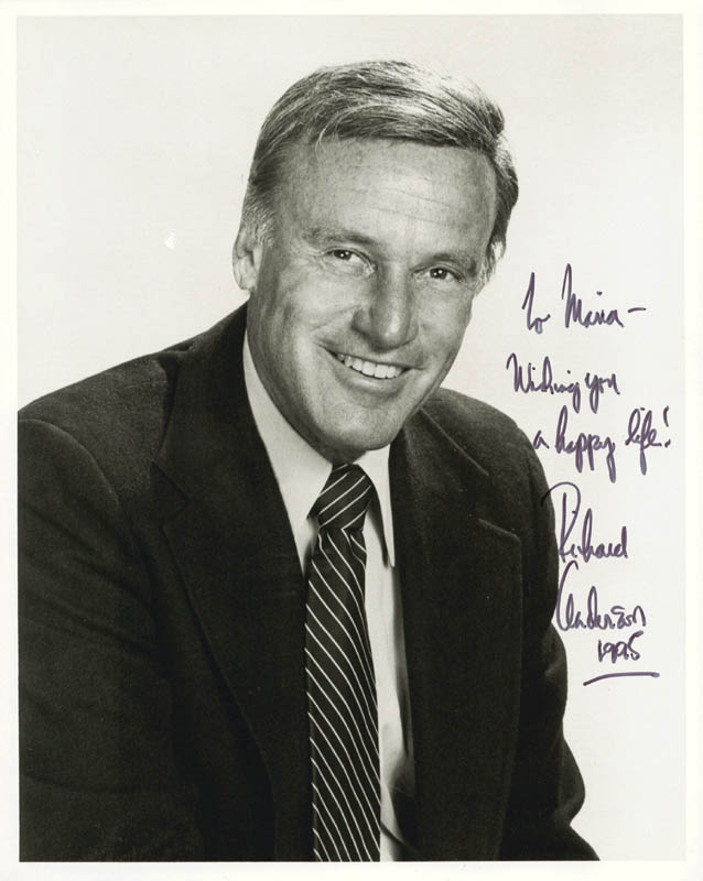 Image 1 for Richard Anderson - Autographed Inscribed Photograph 1995 - HFSID 187517
