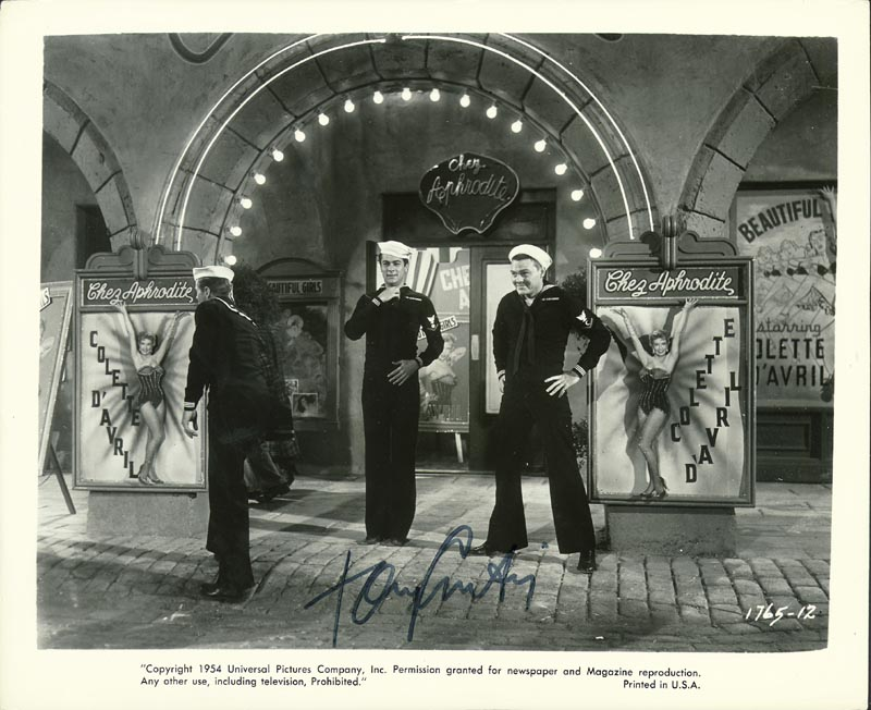 Image 1 for Tony Curtis - Autographed Signed Photograph - HFSID 187545