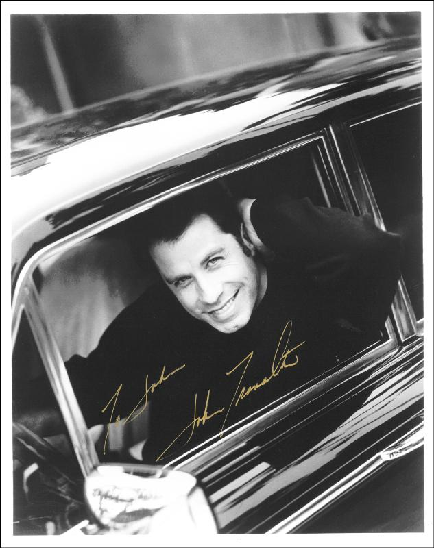 Image 1 for John Travolta - Autographed Inscribed Photograph - HFSID 187835