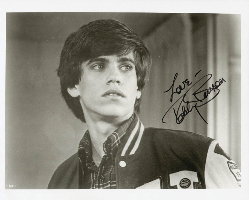 Robby Benson - Autographed Signed Photograph ...