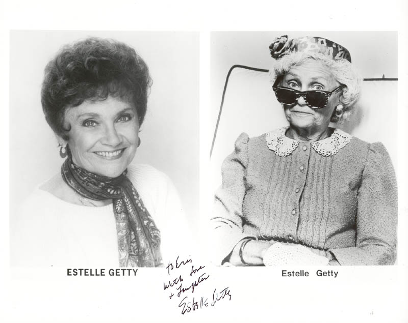 Image 1 for Estelle Getty - Autographed Inscribed Photograph - HFSID 188009