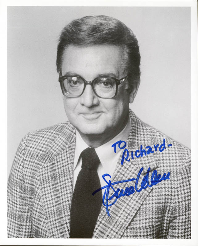 Image 1 for Steve Allen - Autographed Inscribed Photograph - HFSID 188064