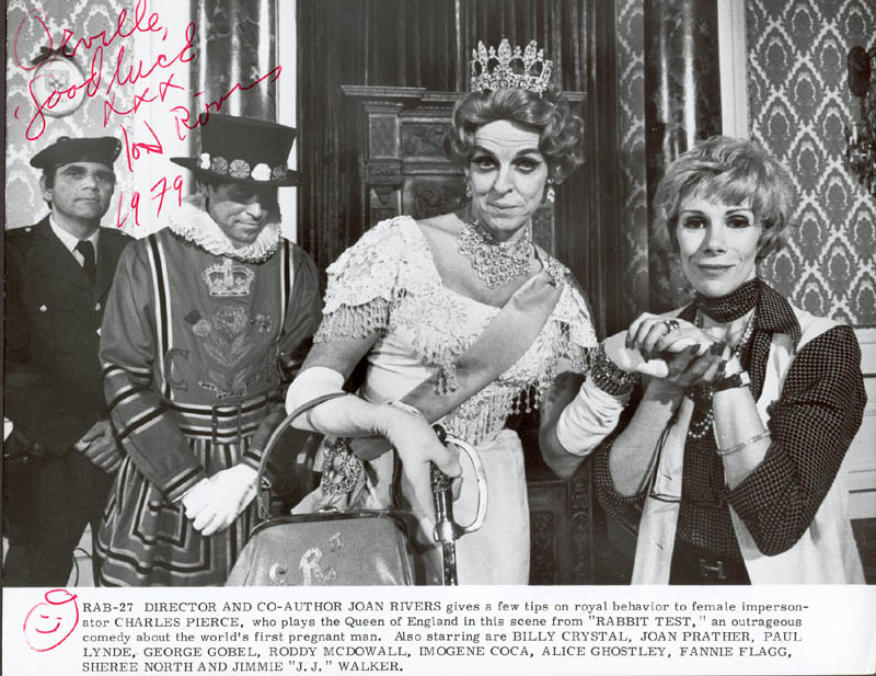 Image 1 for Joan Rivers - Inscribed Printed Photograph Signed In Ink 1979 - HFSID 188186