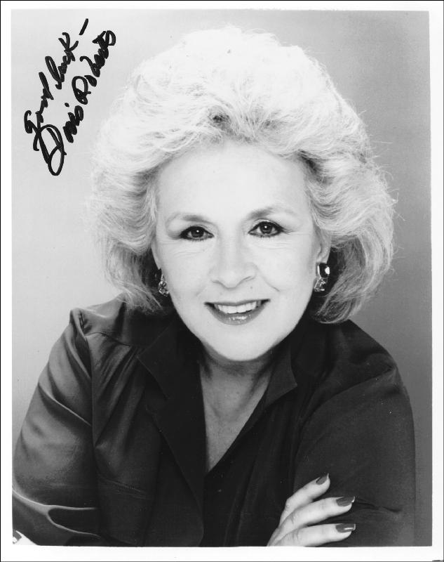 Image 1 for Doris Roberts - Autographed Signed Photograph - HFSID 188204