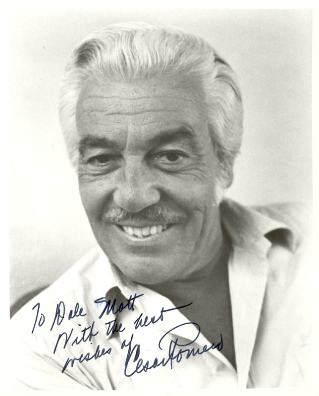 Image 1 for Cesar Romero - Autographed Inscribed Photograph - HFSID 188593