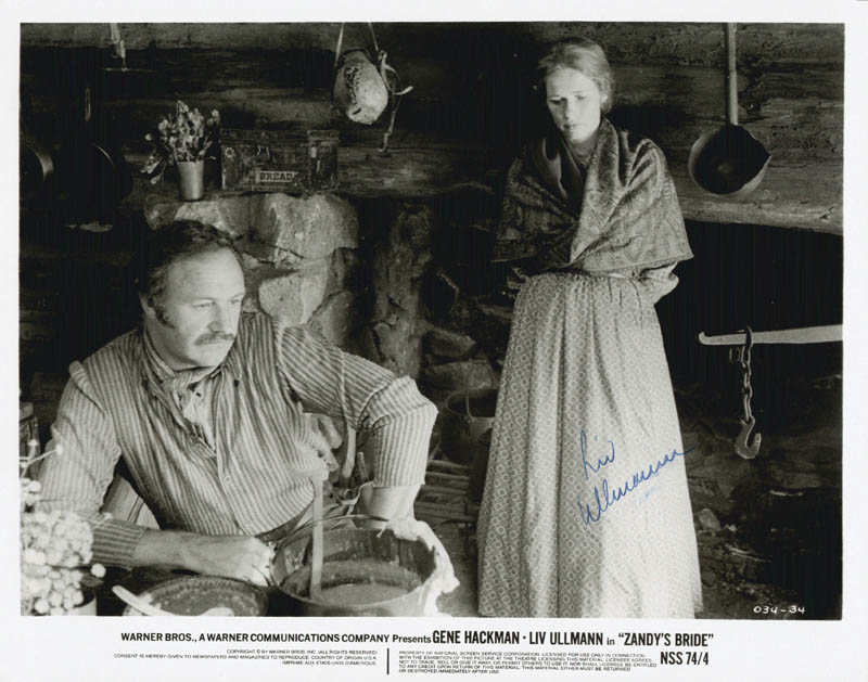 Image 1 for Liv Ullmann - Autographed Signed Photograph - HFSID 188619