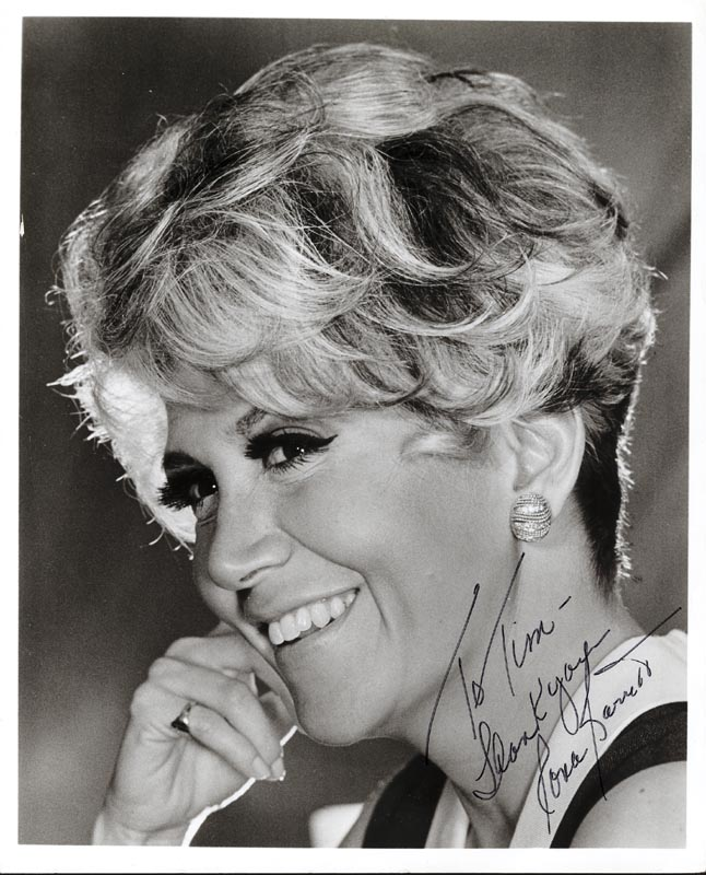 Image 1 for Rona Barrett - Autographed Inscribed Photograph - HFSID 188637