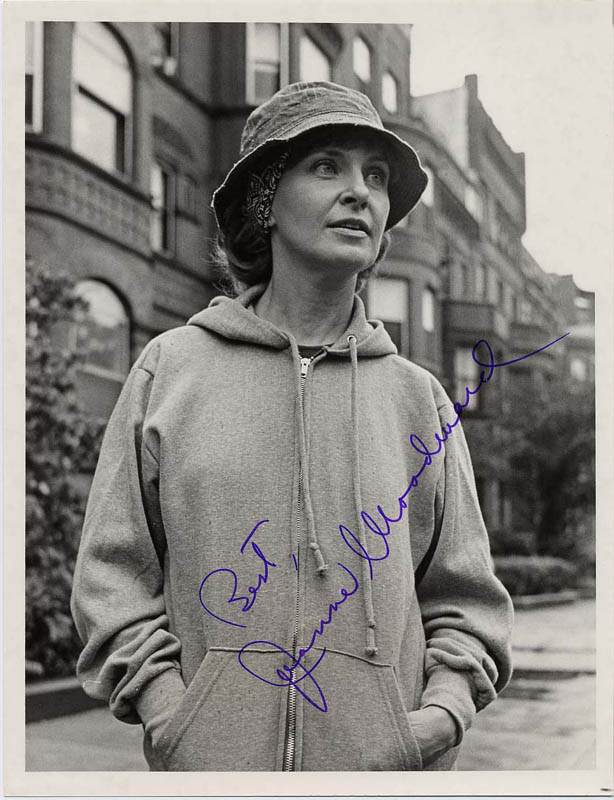 Image 1 for Joanne Woodward - Autographed Signed Photograph - HFSID 188720
