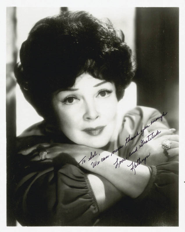 Image 1 for Kathryn Grayson - Autographed Inscribed Photograph - HFSID 188740