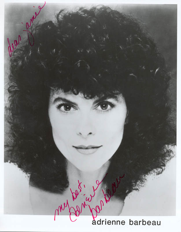 Image 1 for Adrienne Barbeau - Autographed Inscribed Photograph - HFSID 188997