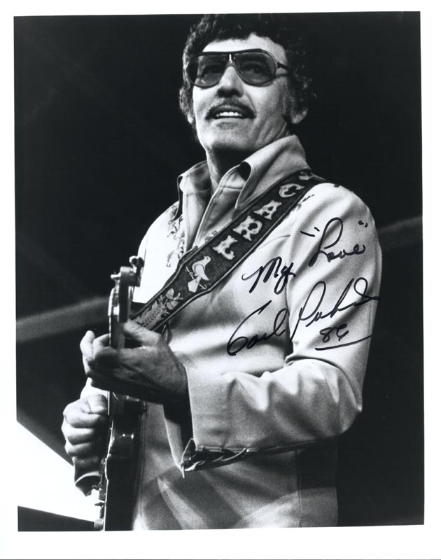 Image 1 for Carl Lee Perkins - Autographed Signed Photograph 1986 - HFSID 189023
