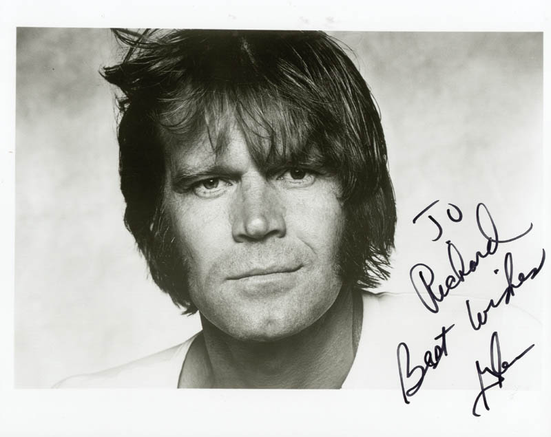 Image 1 for Glen Campbell - Autographed Inscribed Photograph - HFSID 189085