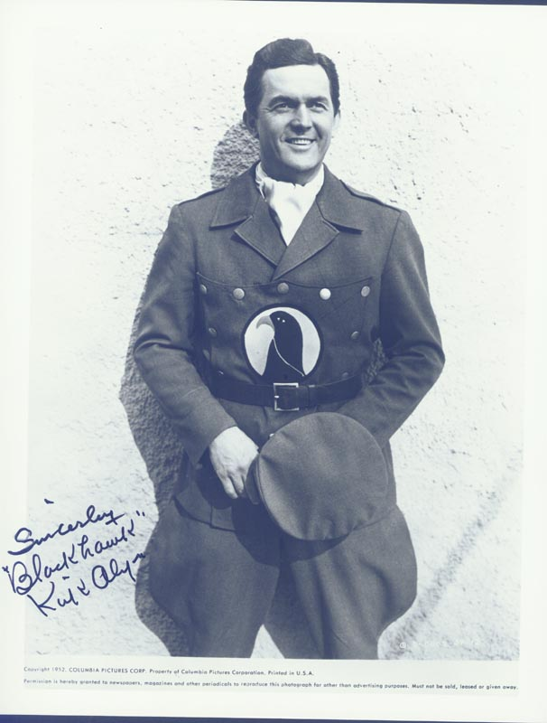 Image 1 for Kirk Alyn - Autographed Signed Photograph Circa 1952 - HFSID 18926