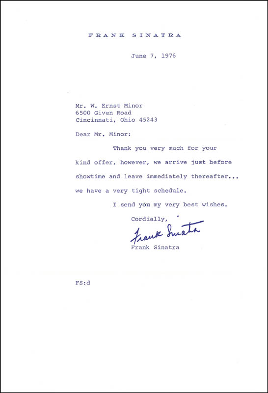 Image 3 for Vice President Spiro T. Agnew - Typed Letter Signed 06/09/1976 - HFSID 189657