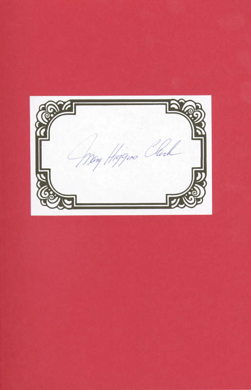 Image 1 for Mary Higgins Clark - Book Signed Circa 1995 - HFSID 189911