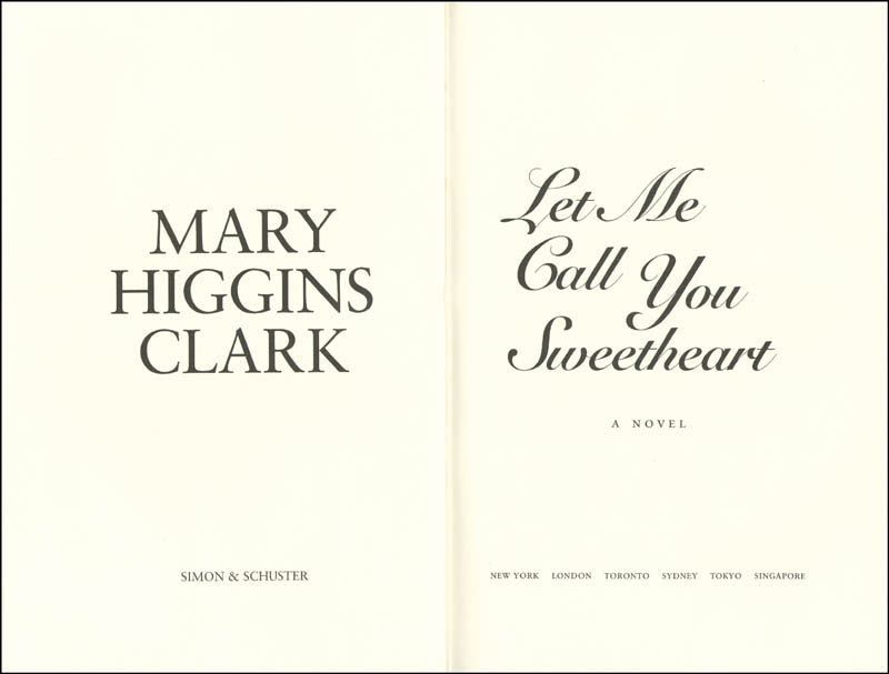 Image 3 for Mary Higgins Clark - Book Signed Circa 1995 - HFSID 189911