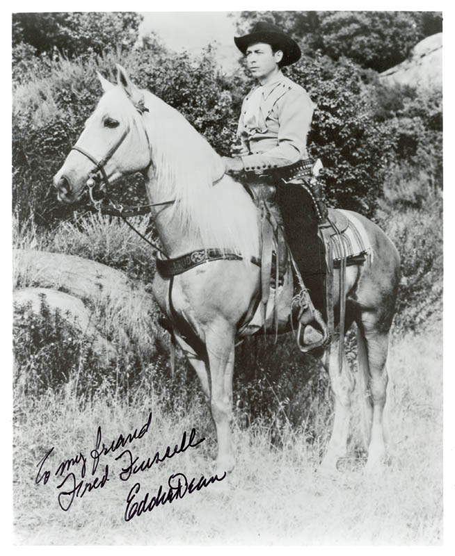 Image 1 for Eddie Dean - Autographed Inscribed Photograph - HFSID 190351