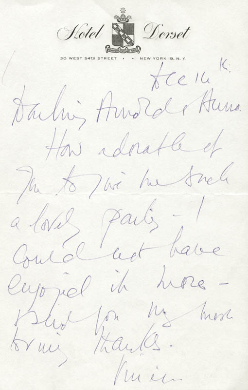 Image 1 for Vivien Leigh - Autograph Letter Signed 12/16 - HFSID 190500