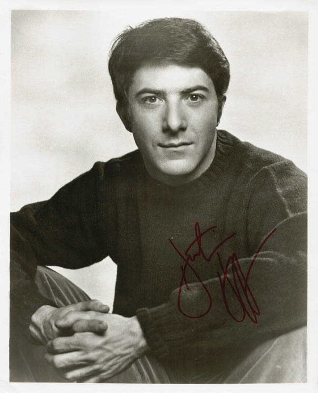 Image 1 for Dustin Hoffman - Autographed Signed Photograph - HFSID 190575