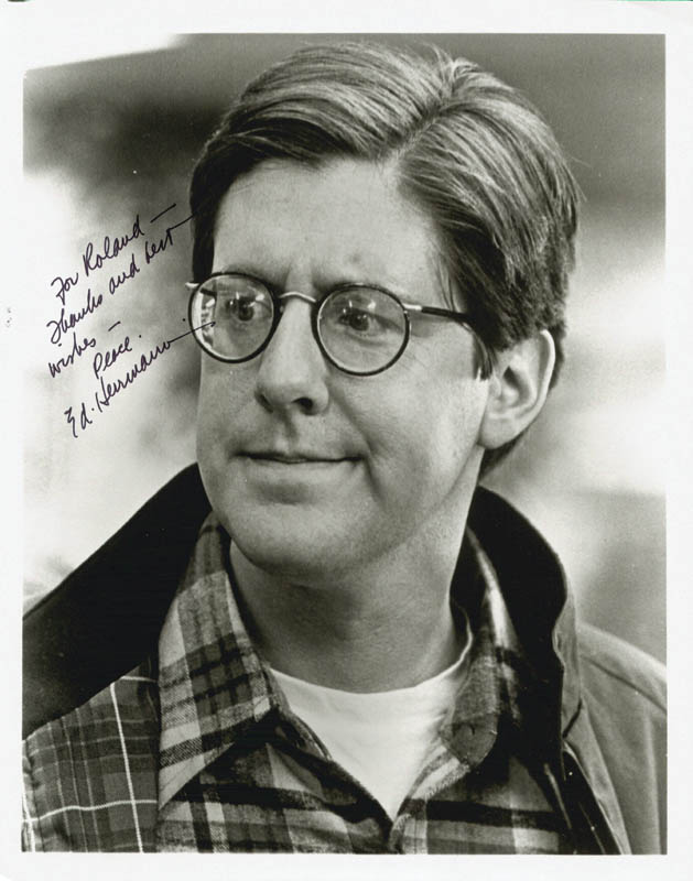 Image 1 for Edward Herrmann - Autographed Inscribed Photograph - HFSID 190776