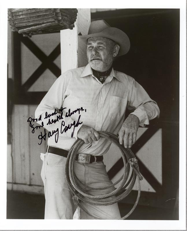 Image 1 for Harry Carey Jr. - Autographed Signed Photograph - HFSID 190928