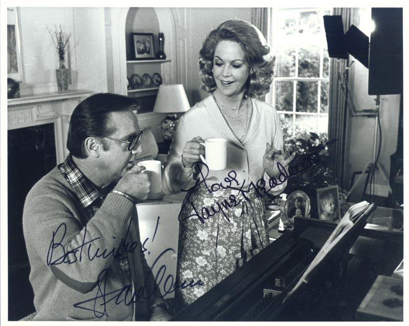 Image 1 for Steve Allen - Autographed Signed Photograph co-signed by: Jayne Meadows - HFSID 190932