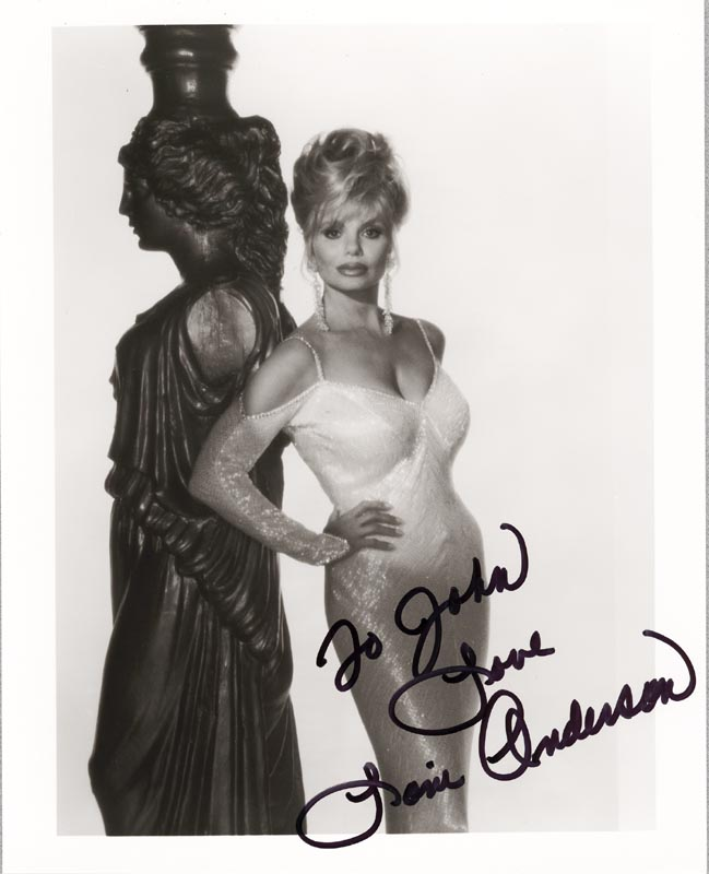 Image 1 for Loni Anderson - Autographed Signed Photograph - HFSID 190955
