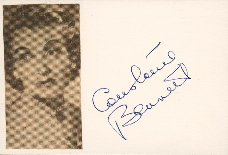 Image 1 for Constance Bennett - Autograph - HFSID 19101