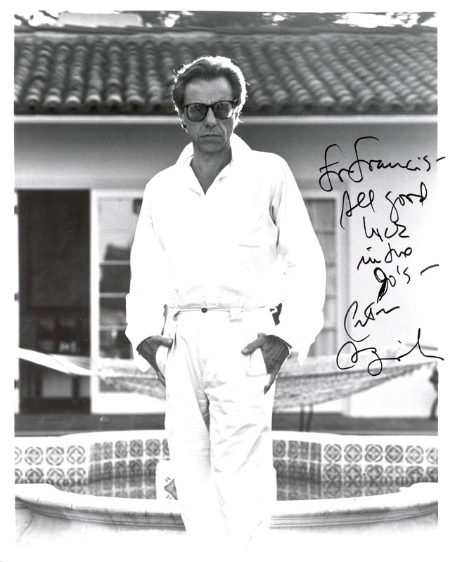 Image 1 for Peter Bogdanovich - Autographed Inscribed Photograph - HFSID 191362