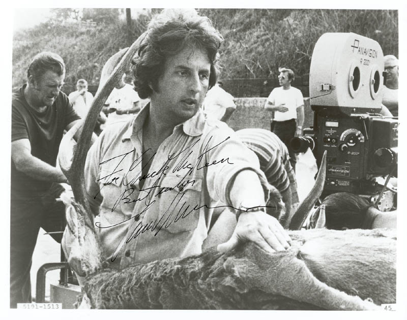 Image 1 for Michael Cimino - Autographed Inscribed Photograph - HFSID 191387